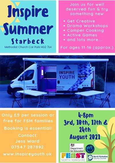 Inspire Summer Starbeck